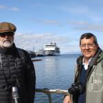 Cada vez son más los turistas que desembarcan en Ushuaia