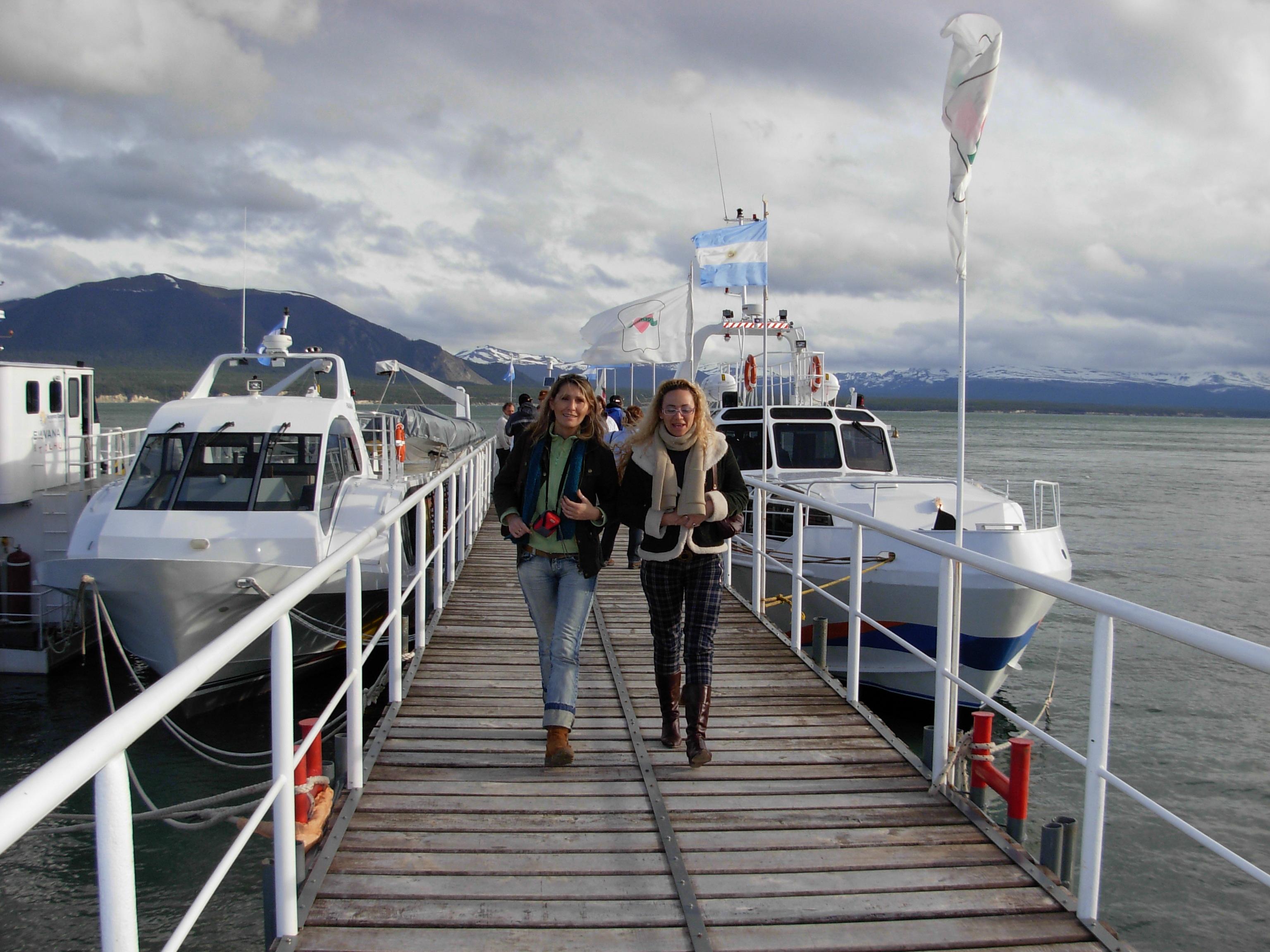 Catamaranes de la empresa Fernández Campbell