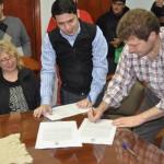 El Municipio firmó convenio para bajar precios