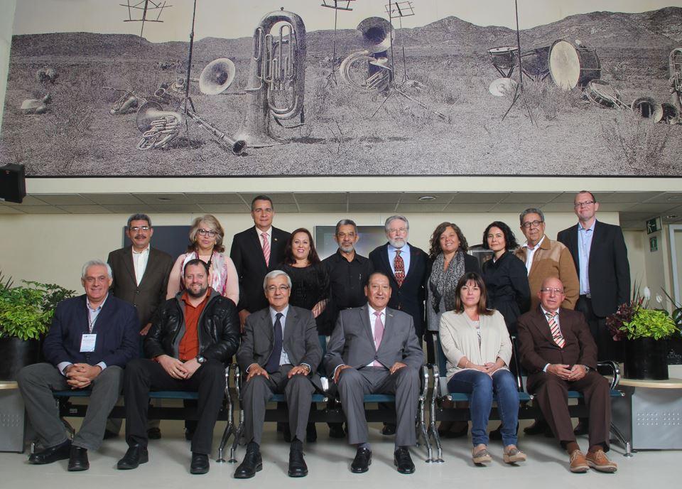 Reunión de Instalación de la Asociación de Radios Públicas y Universitarias de América Latina y el Caribe (ARPUALC) en las instalaciones del Instituto Mexicano de la Radio, sito en la ciudad de México D.F.