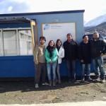 La UTN de Ushuaia participó de la instalación del puesto de venta al público de productos de mar