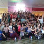 """Exitosa """"Zumbathon"""" a beneficio del Centro CONIN Río Grande"""