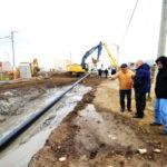 Avanza la construcción del gasoducto
