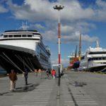 Ampliación del muelle del puerto de Ushuaia