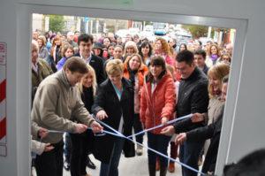 Melella inauguró el Centro Municipal de Salud en Chacra II.
