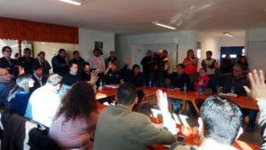 La Mesa Técnica pasó a cuarto intermedio por las detenciones de gremialistas.