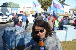 Verónica Andino, secretaria General del SUTEF Río Grande, está entre los notificados.