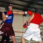 Festival de boxeo por el «Día del Trabajador»