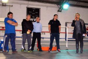 """Festival de boxeo por el """"Día del Trabajador""""."""