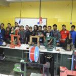 Alumnos del curso de 3D que se dicta en la UTN realizan una obra ejemplar