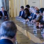 Castelucci participó del encuentro de Rectores en Casa Rosada