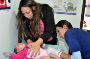 El Centro de Salud N° 2 también tiene un vacunatorio.