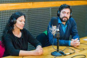 La flamante visita de Josefina Vaca y Walter Bogado, de la Facultad Regional Río Grande.