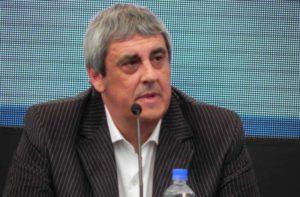 """El secretario General de la Unión Docentes Argentinos y Secretario de Políticas Educativas de la CGT, Sergio Romero, se mostró """"satisfecho"""" con el acuerdo."""