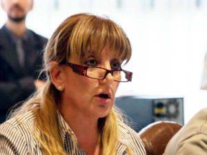 Legisladora del Frente  para la Victoria, Myriam Martínez.