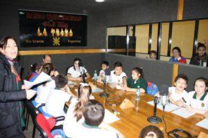 """""""Pequeños Sueños"""". Los alumnos más pequeños del EADEB también tiene su espacio en Radio Universidad."""