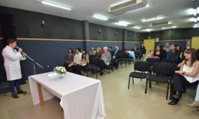 Nueva promoción de la Residencia Clínica Pediátrica del Hospital Regional Río Grande.