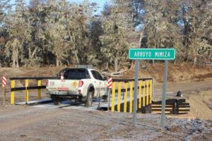 Vialidad Provincial concluyó el puente del Arroyo Mimiza.