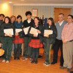 El municipio recibió a alumnos de intercambio