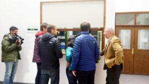 Con el fin de hacer una autodenuncia, ayer el ex intendente Federico Sciurano se presentó ante la justicia penal.