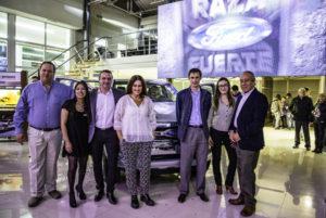 Sevillano encabezó el lanzamiento de la nueva Ford Ranger.