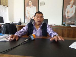 Luis Alberto Sosa, secretario General del Sindicato de Petróleo y Gas Privados.