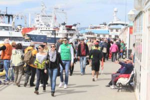 Preocupa la caída del turismo en Ushuaia.