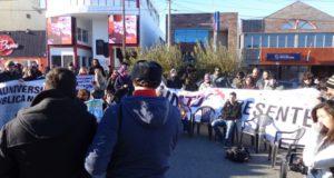 La UNTDF continúa en estado de lucha y movilización.