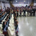 Alumnos de la EADEB prometieron lealtad a la Bandera