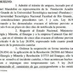 Tarifazo: La Justicia Federal falló en favor de la UTN