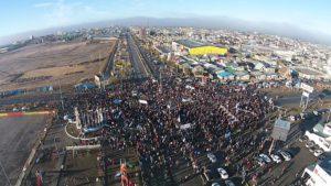 Más de 5 mil personas acompañaron la marcha contra el tarifazo de gas en Río Grande.