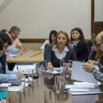 Freites presidió el encuentro de la Comisión de Educación