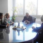 La senadora Boyadjián y legisladores del MPF se reunieron con el ministro Aranguren