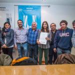 Vuoto y el Ushuaia Rugby Club celebraron la firma de escritura del terreno