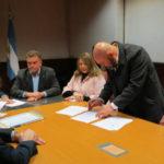IPV y ATE sellaron acuerdo por 240 viviendas