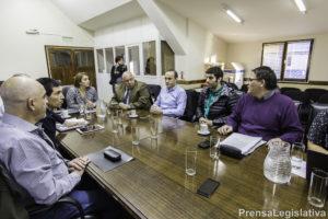 La Legisladora Freites recibió a referentes de las instituciones educativas y al Ministro de Educación, Diego Romero.