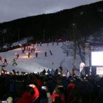 El Cerro Castor inauguró la temporada invernal con la emblemática bajada de Antorchas