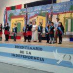 Alumnos del CIERG, EADEB y del Jardín Peñaloza festejaron el Bicentenario