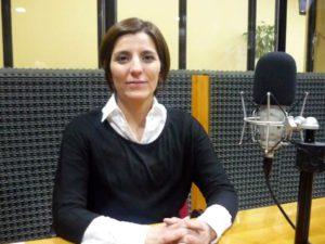La legisladora del Frente para la Victoria Noelia Carrasco.