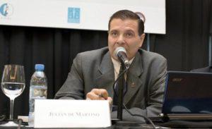 El comunicado lleva la firma del doctor Julián De Martino, presidente de la Asociación de Magistrados.