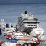 Bertone anunció la ampliación del Puerto de Ushuaia