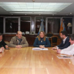 La Gobernadora Bertone se reunió con el Intendente Vuoto