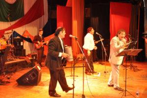 El grupo Vibración celebró sus 30 años en la Casa de la Cultura.