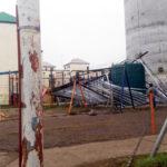 El viento causó estragos en Río Grande y Ushuaia