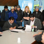 Vuoto y la UOCRA acordaron abrir el primer Centro de Salud Municipal
