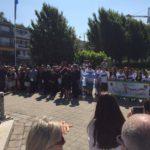 Autoridades y alumnos de la UTN y del CIERG rindieron homenaje a San Martín en Francia