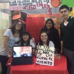 Alumnos del CIERG presentaron interesante proyecto en la Feria de Ciencias sobre la violencia de género