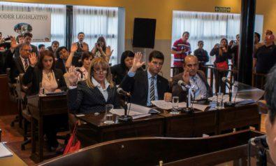 """Ante las críticas por la mayoría automática actual, recordó que """"yo fui parte de una Legislatura que cogobernó con la gobernadora Fabiana Ríos, pero nosotros acompañamos, aunque no compartíamos cómo se manejaba la ex gobernadora."""