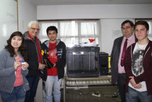 La empresa Roch donó al C.P.E.T. de Río Grande una impresora 3D - Kikailabs - Modelo Fabber M11, y equipamiento a la sala de informática con PC de última tecnología.