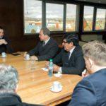Arcando recibió a autoridades del Ministerio de Ciencia y Tecnología de la Nación